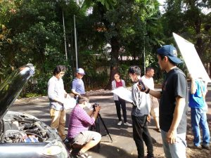 Acara Shooting Lomba Iklan Bukalapak