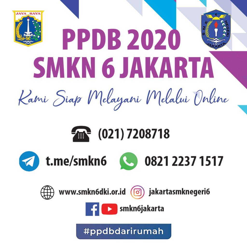 HotLine PPDB SMKN 6 Jakarta